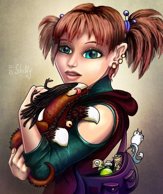 Female Gnome: D&d Female Gnome - Google Search