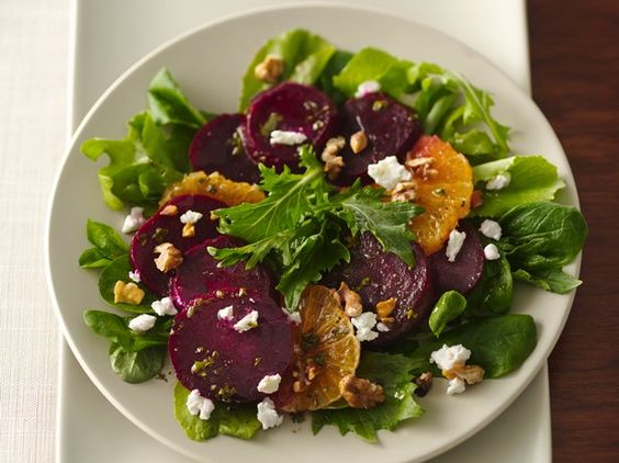 beet salad with maple grapefruit dressing kale and roasted beet salad ...