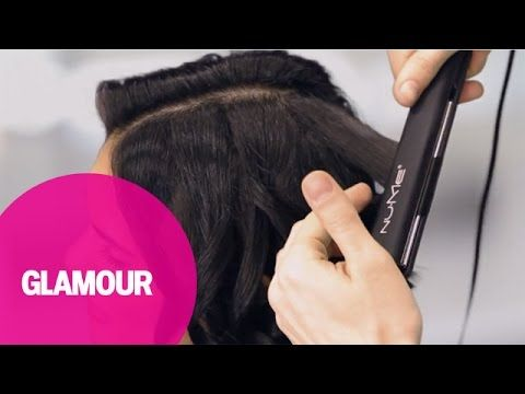 Amazing How To Curl Short Hair With A Flat Iron Glamours Hey Hair Hairstyle Inspiration Daily Dogsangcom