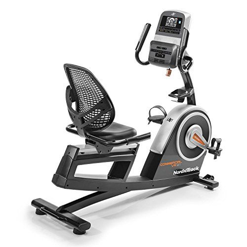 Nordic Track Unisex S Commercial Vr21 Recumbent Exercise Bike