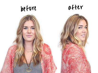 Fake a haircut. This would only work if you had layered locks, but you make a bun of your longer hair under your top layer and use the shorter hair to hide it.
