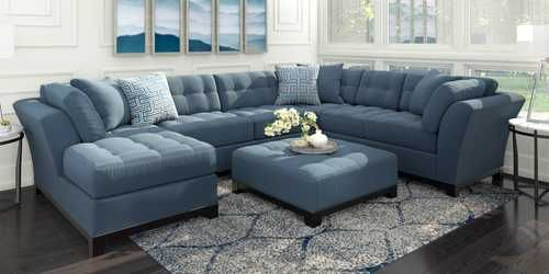 Living Room Sets Living Room Furniture Packages Collections With Images Living Room Sets Furniture Blue Living Room Sets Blue Living Room