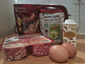 Pasta alla Carbonara SANS CREME FRAICHE (Kaellie's World)