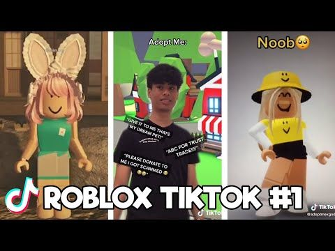 Funny Random Roblox Tiktok Compilation 1 Tik Tok 2020 Youtube Roblox Funny Clips Funny
