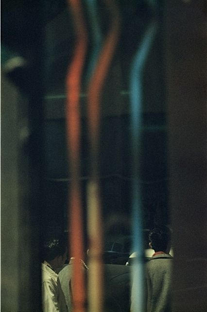 by Saul Leiter, Pipes, 1960