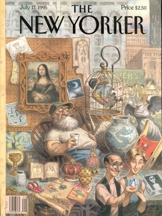 Art New Yorker covers