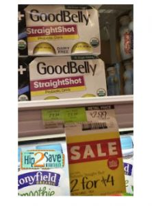 FREE Good Belly Probiotic Drink at Whole Foods!