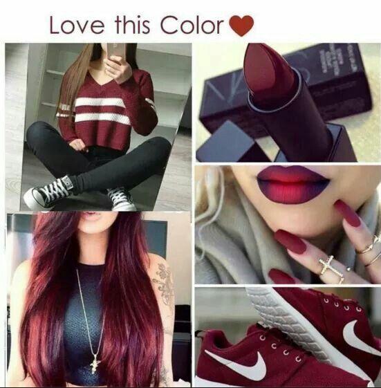 Loving the lip color!