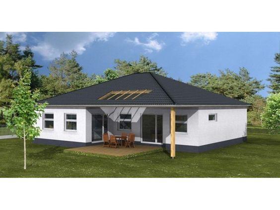 harmonie wohnhaus bungalow 140 einfamilienhaus von 1a wohnbau gmbh hausxxl bungalow. Black Bedroom Furniture Sets. Home Design Ideas