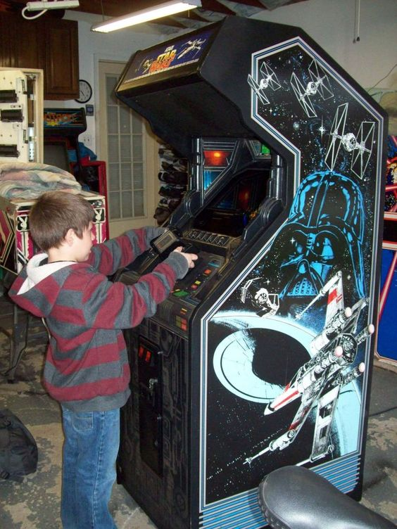 STAR WARS Fully Restored, Original Video Arcade Game with Warranty & Support #TRANSON