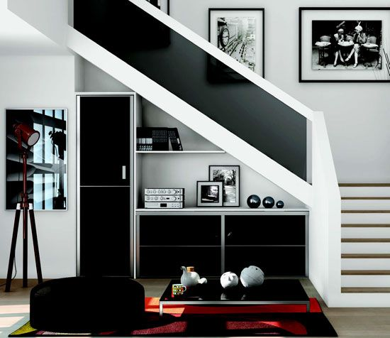 Pinterest le catalogue d 39 id es for Amenagement salon avec escalier