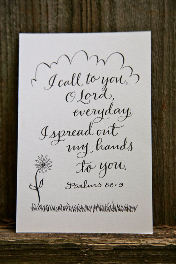 Philippians 4 13 Hand Lettered Scripture Print Bella
