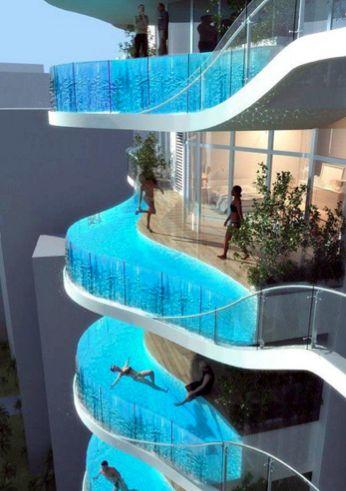 Wet balconies!