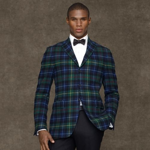 Three Button Tartan Sport Coat | Coats, Ralph lauren and Polos