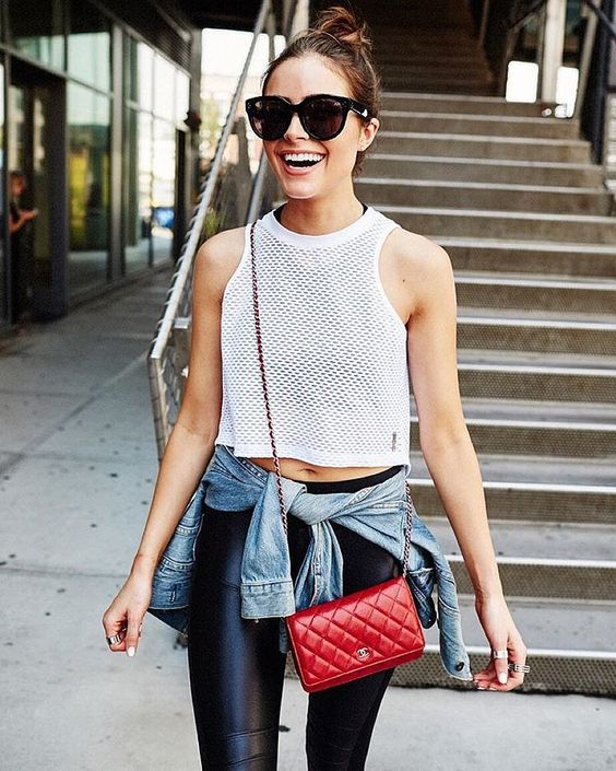 Outfit-Inspiration: Athleisure Modetrend