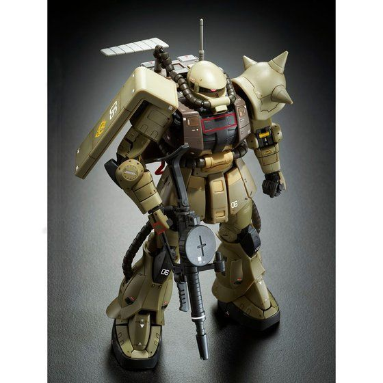 A.N.I.M.E. Bandai MS-06F Zaku Mine Layer ver