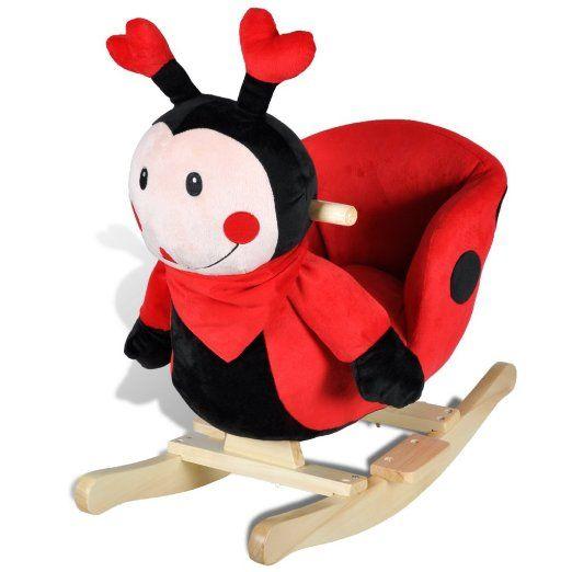 vidaXL Schaukeltier Schaukelpferd Schaukel Tier Marienkäfer #baby #kinder #babygift #gift #geschenk #babyshower #babyboom #geburt #geburtstag #kindergeburtstag