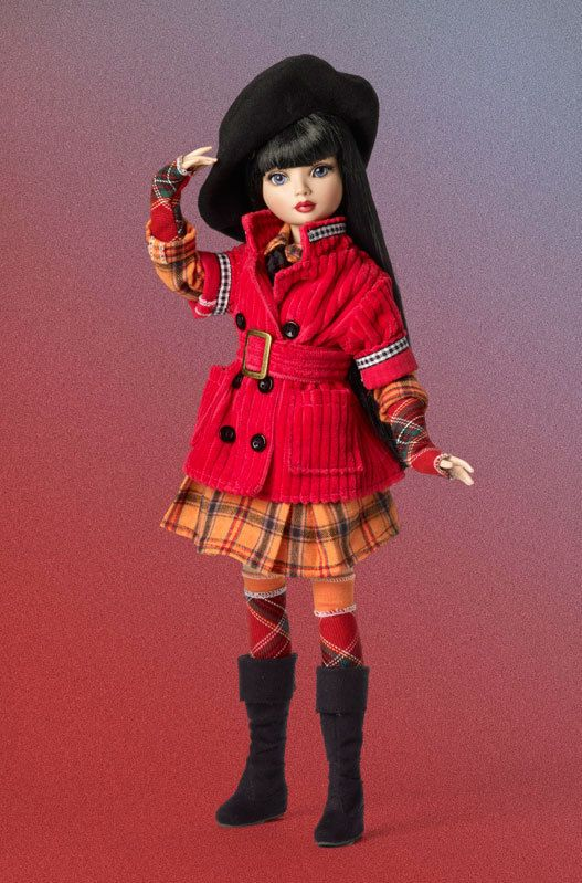 "Tonner Ellowyne Wilde ""Plaid to Meet You"" outfit....Rhiannon would ROCK this outfit"