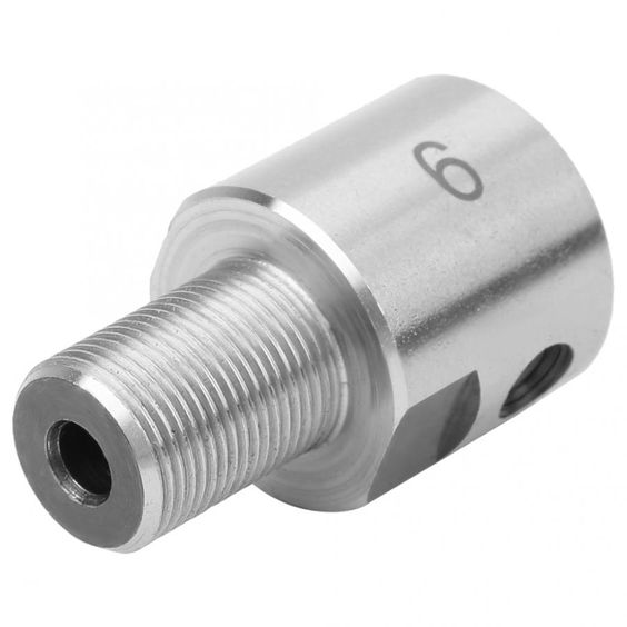8 48us 35 Off Electric Drill Chuck Connecting Rod 6 8 10 12mm Stainless Steel M14 1 Thread For K01 50 63 K02 50 63 Mini Lathe Chuck Cnc Parts Power Tool Acce Power Tool Accessories Tool Accessories Electric Drill