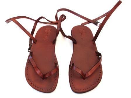 Sandali fatti a mano in pelle per Donne e Uomini di SANDALIM su DaWanda.com