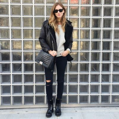 8 Street Style Outfit Ideas with Ripped Jeans