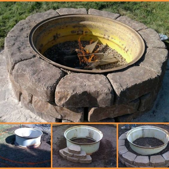 i stumbled onto another great fire pit idea over at tractor by net you can never have too many. Black Bedroom Furniture Sets. Home Design Ideas