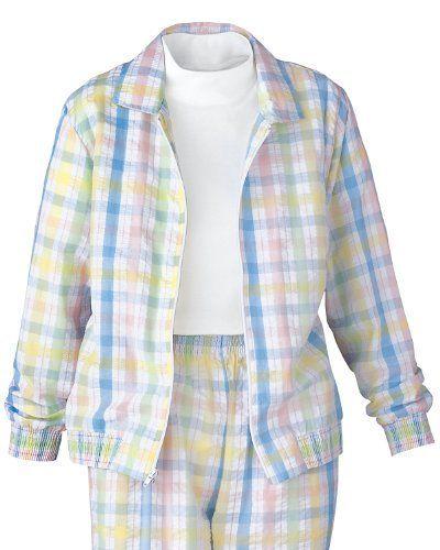 National Seersucker Zip Jacket, Petite National. $24.95 | Clothing ...