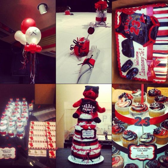 jordan baby shower baby shower themes and jordans on pinterest