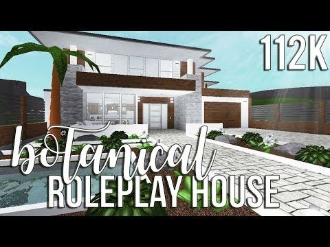 Bloxburg Two Story House Design House Blueprints Modern Family House