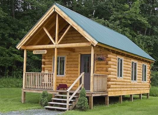 8 Low Cost Kits For A 21st Century Log Cabin In 2020 Small Log