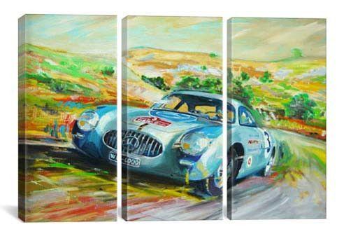 Mercedes 300 SL Racing (3 piece)