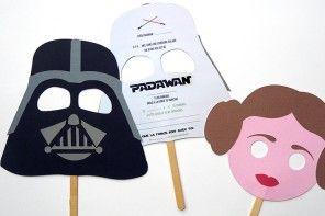 FREE Printable Star Wars Invitations