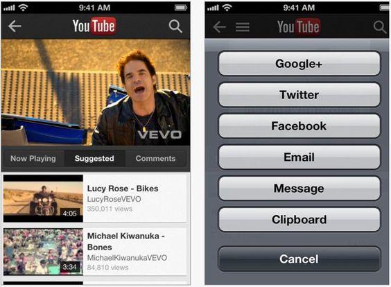 Youtube saca su propia app para el iOS