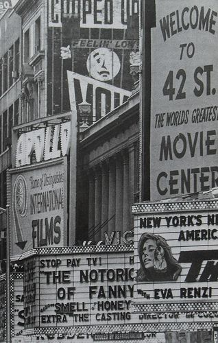Vintage NY. Old Times Square area.