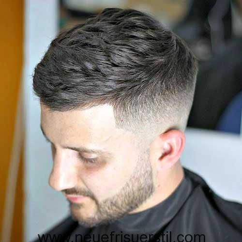 Verblasst Stil Kurze Haare Schneiden Für Männer Hair