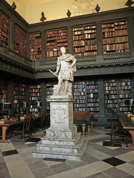 Library at All Souls College, Oxford, England