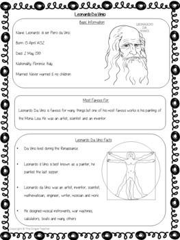 Scientists And Inventors Leonardo Da Vinci Powerpoint And