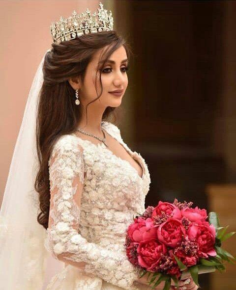 60 Worthy Wedding Crowns Inspiration 6 Fiveno Gelinler Dugun Saci Elbise Dugun