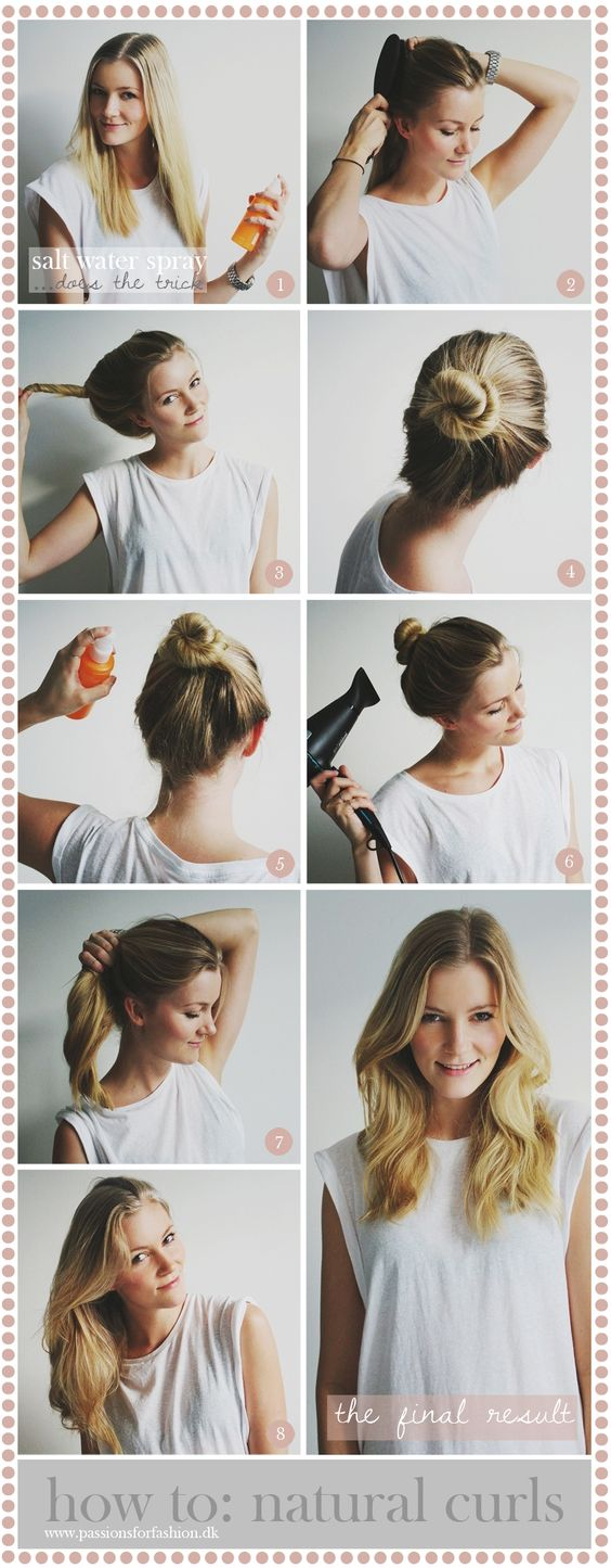 How to: natural curls