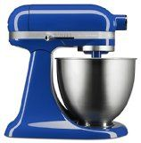 Twilight blue artisan mini mixer - fantastic accent for kitchen decor and you can even use it to make stuff!