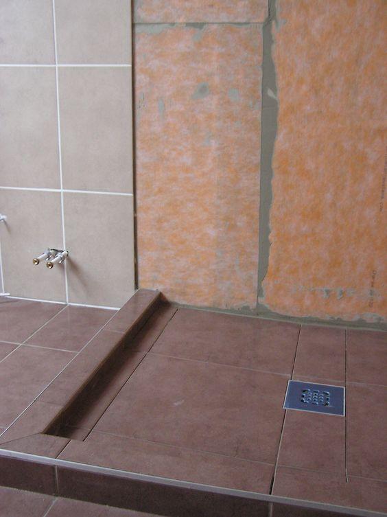 Inloopdouche kerdi doek ontwerp inspiratie voor uw badkamer meubels thuis - Fotos italiaanse douche ontwerp ...