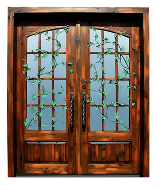 Iron doors french and memphis on pinterest for Custom french doors