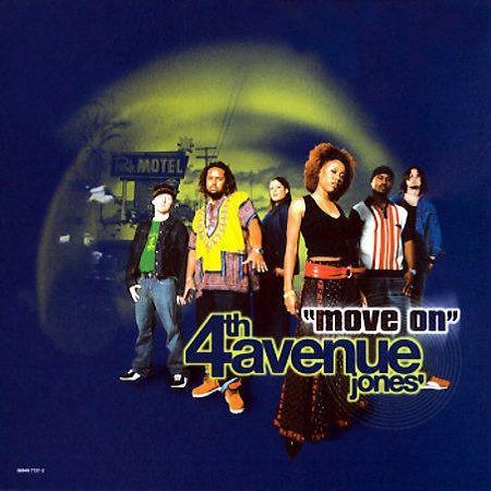 4th Avenue Jones – Move On (single cover art)