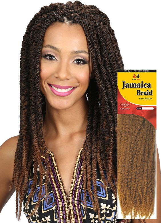 Bobbi Boss Jamaica (Marley) Braid | Marley braids, Twists ... Jamaican Rope Twist Braids