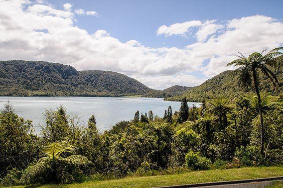 Blue Lake Bay of plenty New Zealand
