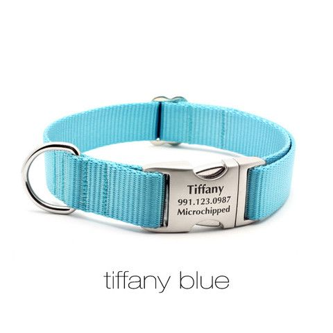 Flying Dog Collars! Beautiful collars with engraved buckles for your ...