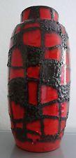 ROTH XXL Keramik LAVA Vase um 1970 Höhe 37 cm