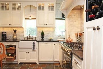 Custom Cabinet Refacing, Maplewood, NJ - traditional - Kitchen - New York - Robinwood Kitchens