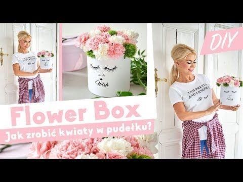 538 Flower Box Diy Jak Zrobic Pudelko Z Kwiatami Youtube Diy Flower Boxes Flower Boxes Diy Box