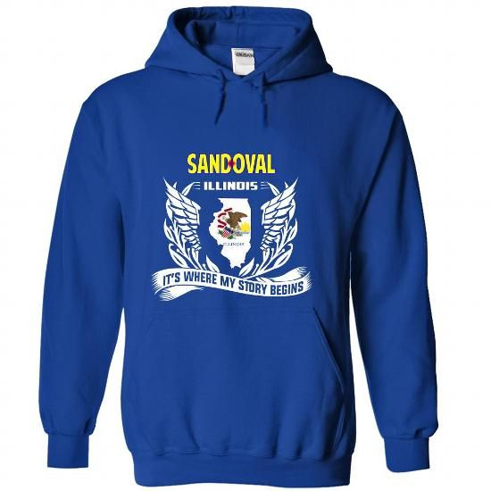 Sandoval - Its where my story begins! - #housewarming gift #husband gift. CHECK PRICE => https://www.sunfrog.com/No-Category/Sandoval--Its-where-my-story-begins-RoyalBlue-Hoodie.html?68278